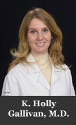 K. Holly Gallivan, M.D.
